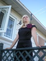 Lady rose at the balcony 04 by gsdark-stock