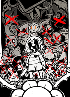 Undertale (Genocide) by BlessedWithLuck