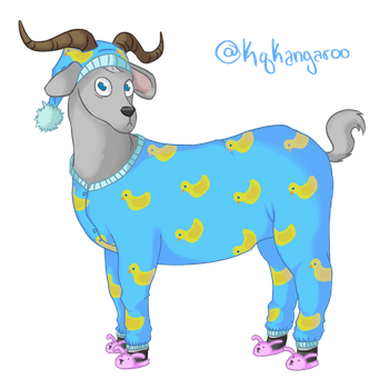 Costume Collab! PJ Goat by KqKangaroo