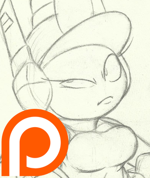 Paddy Wagon_Patreon Sketch by InkBottleInc