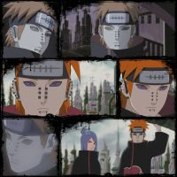 Pein Anime Collage better by sargas08