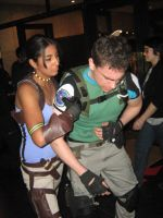 Partners Chris and sheva by Chris--Redfield