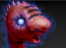 ZBrush eltric dino model by Gman20999