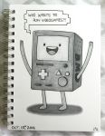 Inktober 2016: BMO by Red-Flare