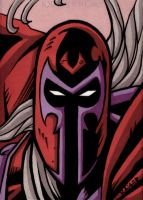 AoA Magneto Sketch Card by tillman54