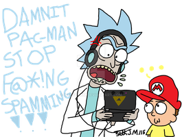 Gamer Rick by UltimateStudios
