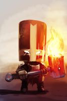 Castle_Crashers_fanart_speedpaint by ksenolog