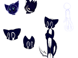 Sketchy Concept Doodles by SmilehKitteh
