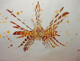 Lionfish by Qualiaicious