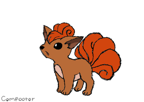 If You Were A Pokemon - Jordy - Vulpix by Thory-Wory