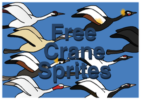Free Crane Pack by xVanyx