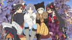 Senran Kagura - Winter Group by Xpand-Your-Mind