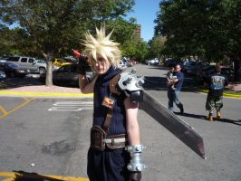Cloud Strife by LuxiotheEchidna