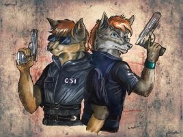 CSI Wolves by StarlightsMarti