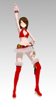 Blade and Soul Female Christmas by SerenaSyrupChan18