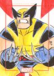 Blue Gold Wolverine by Bulun
