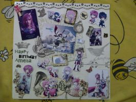 Lightning Scrapbook by margarethere