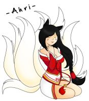 -Ahri- by DaSuperFantomStick