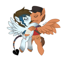 [REQUEST] Stormfly and Pony!Scout by KinziKritzkrieg