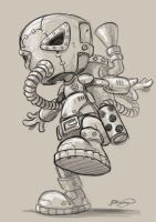 steampunk character WIP by craig-bruyn