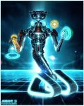 Commission - Tron Johnny 5 by MattiasFahlberg