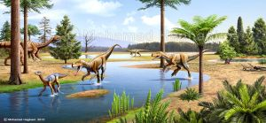 Triassic times by haghani