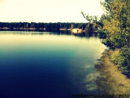 At the lake by MiserySyndromex3