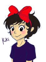 Kiki sketch and color by Lansoh