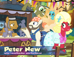 Peter New as Cousin Orchard Blossom by PixelKitties