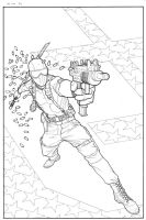 GI JOE: ORIGINS 5 inks by gatchatom