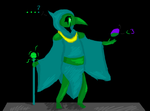 Plague knight by Spazzygamergirl