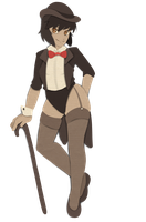 Cabaret Cut-out by MagicalZombie
