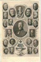 Kaiser Wilhelm and war-leaders by Arminius1871