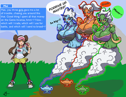 Pokemon: Forces of Nature Genie TF/TGs
