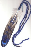 Blue Eagle Peacock Starfeather by Goldenwolf