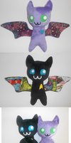 Kitty Bats by Sophillia