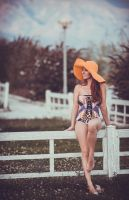 One big orange hat2 by piesong