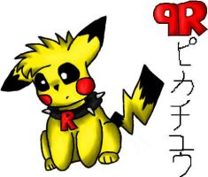 Chubby-Hands Pikachu by roxster22