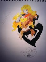 Yang Xiao Long by Timoteo-The-Turtle