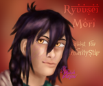 Ryuusei - Paintportrait request for InfinityStar by Burlew