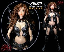 AVP She Predator Machiko Noguchi by JVCustoms by jvcustoms
