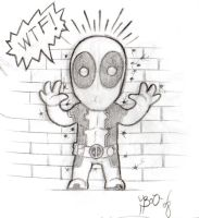 Deadpool Chibi by Bou87