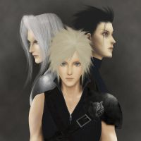 final fantasy 7 by dune-art