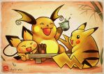 PIKA'PARTY WIT'CHU'S!~ by CHOBI-PHO