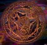 Copper Mandala II by CMDRCHAOS