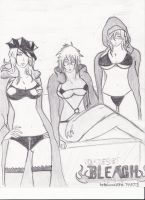 3 Girls of bleach by Protonpen