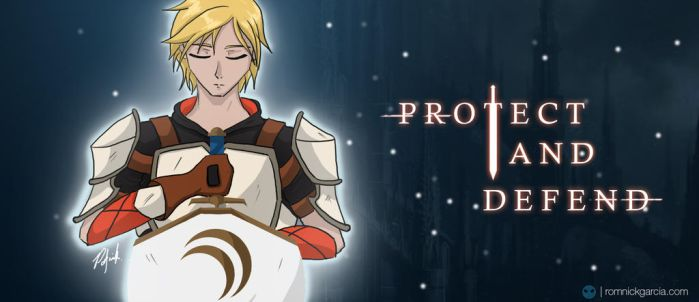 PROTECT AND DEFEND | JNPR - Jaune Arc by patgarci