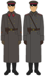 M41 Shinel Comparison - Officer by JoeyLock