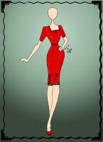 Sewing Project: The Red Dress by sunshishi