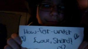 How far under fan sign, w00t by Shardx3